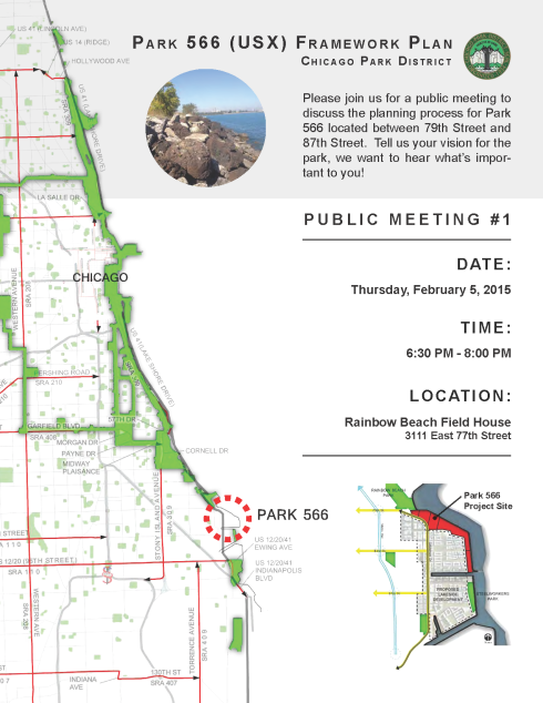 Park 566 Public Meeting Flyer