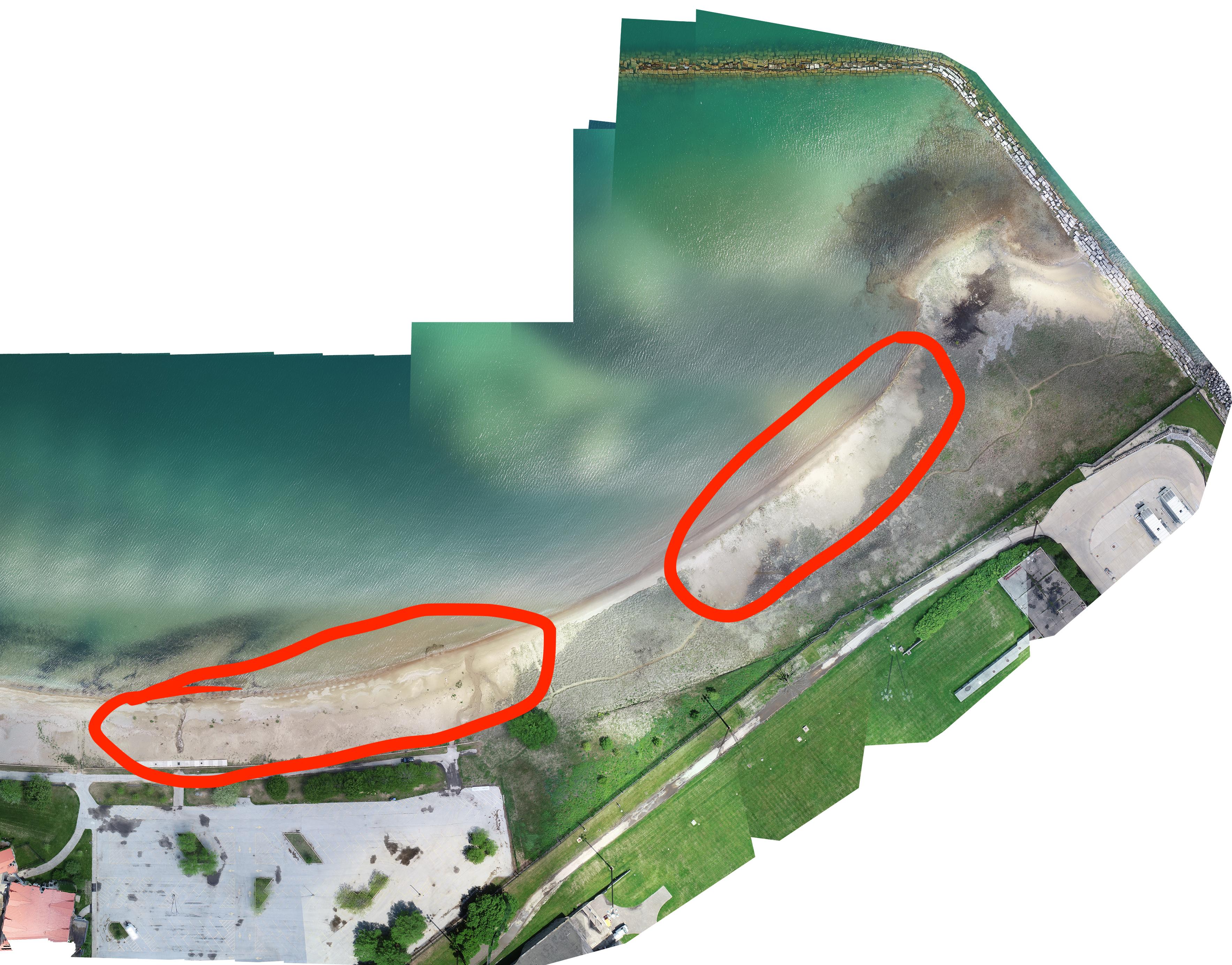 RBD aerial photo 2020- new beaches