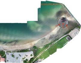 RBD aerial photo 2020 - new panne