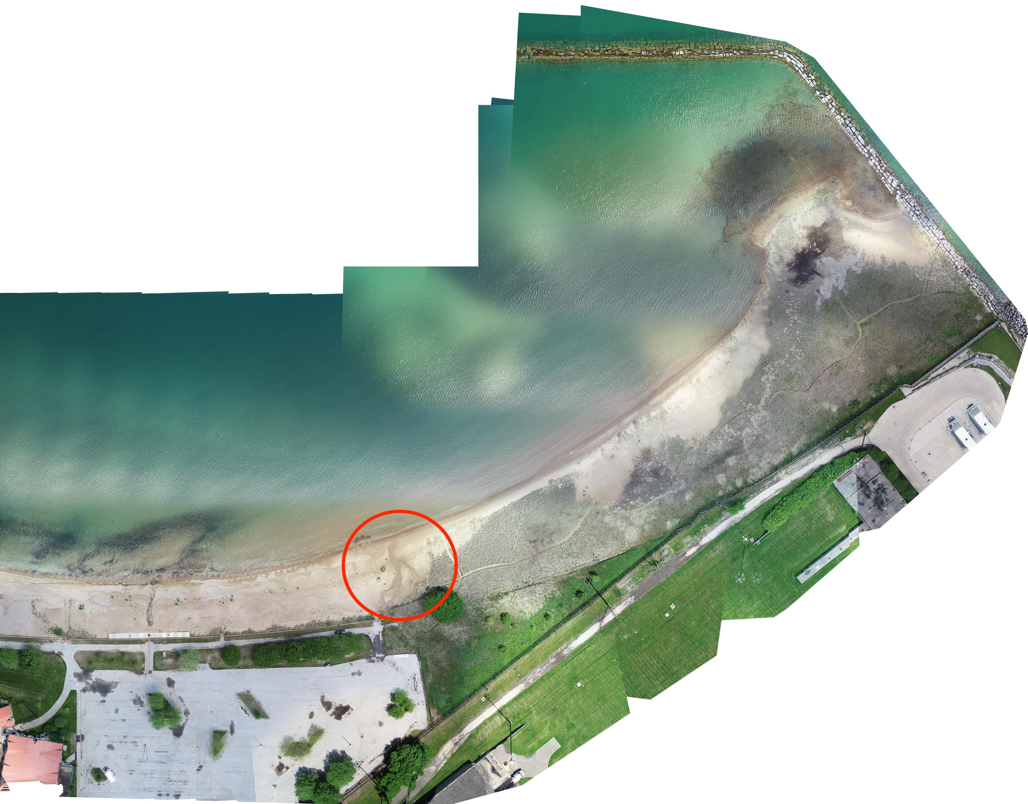 RBD aerial photo 2020 - old panne